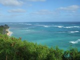 クアロアの海