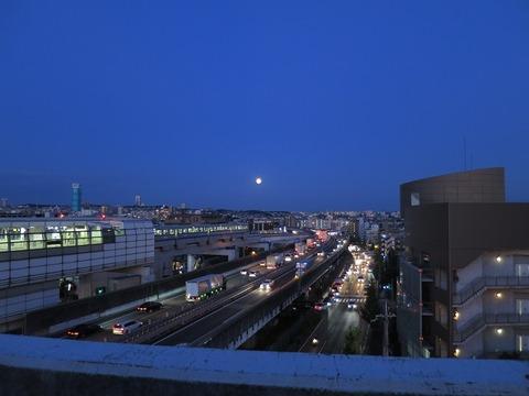 皆既月食2014年10月8日 (1)