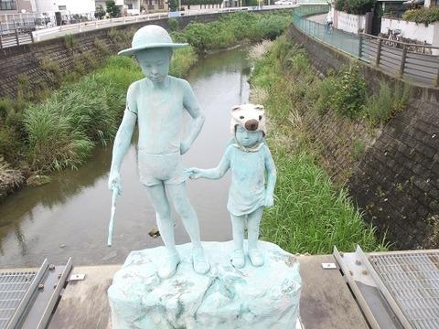 千里川のモニュメント (2)