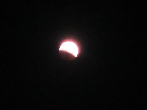 皆既月食2014年10月8日 (3)