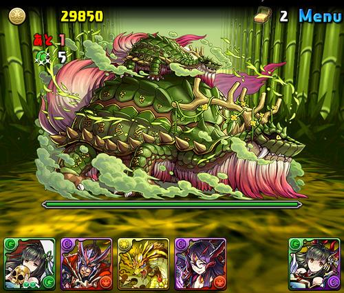 【パズドラ速報】8/21(月)から「木の戦武龍」登場!【公式】