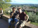 2 boys drinking