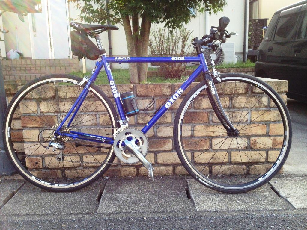 自転車の gios 自転車 評判 : 人生ポタリング。:GIOS AMPIO TIAGRA