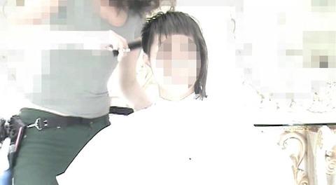 18歳の女の子が断髪で坊主頭に (6)