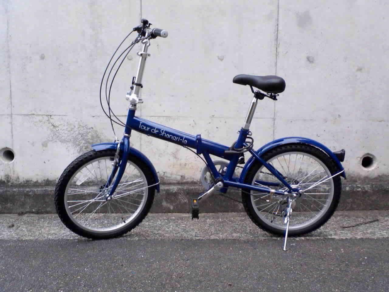 ... deブログ:折りたたみ自転車