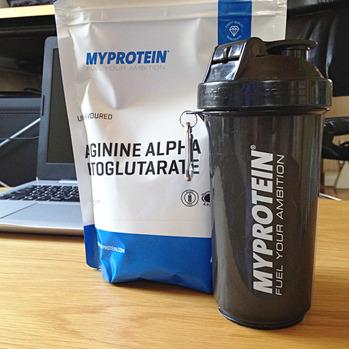 マイプロテイン アルギニン アルファ ケトグルタル酸(AAKG)