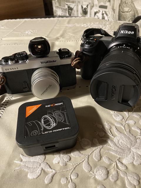 Nikon Z6に悪魔の輪っか