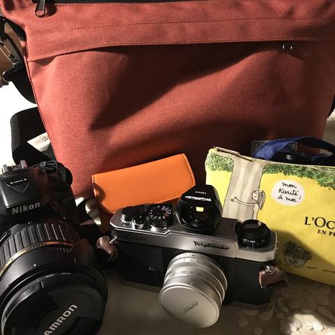 閑話休題、お気に入りカメラバッグ&懐かしカード
