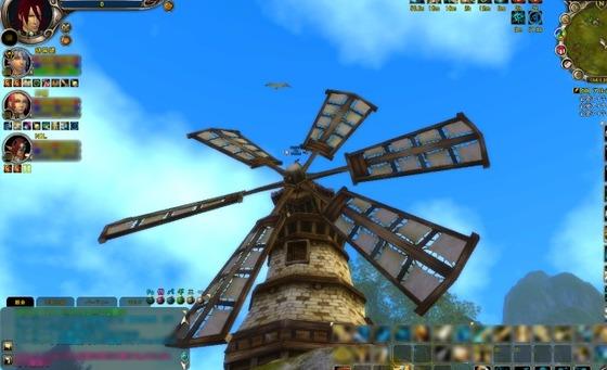ログ風車2