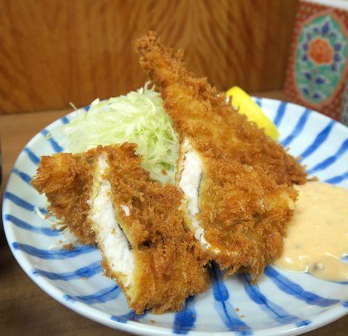 鯵鱧フライ定食6