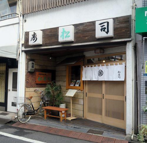 逸品キンメ   谷中松寿司(千駄木)