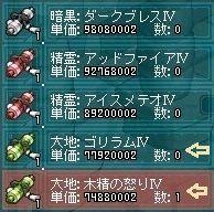 11月21日木精の怒りⅣお買い物
