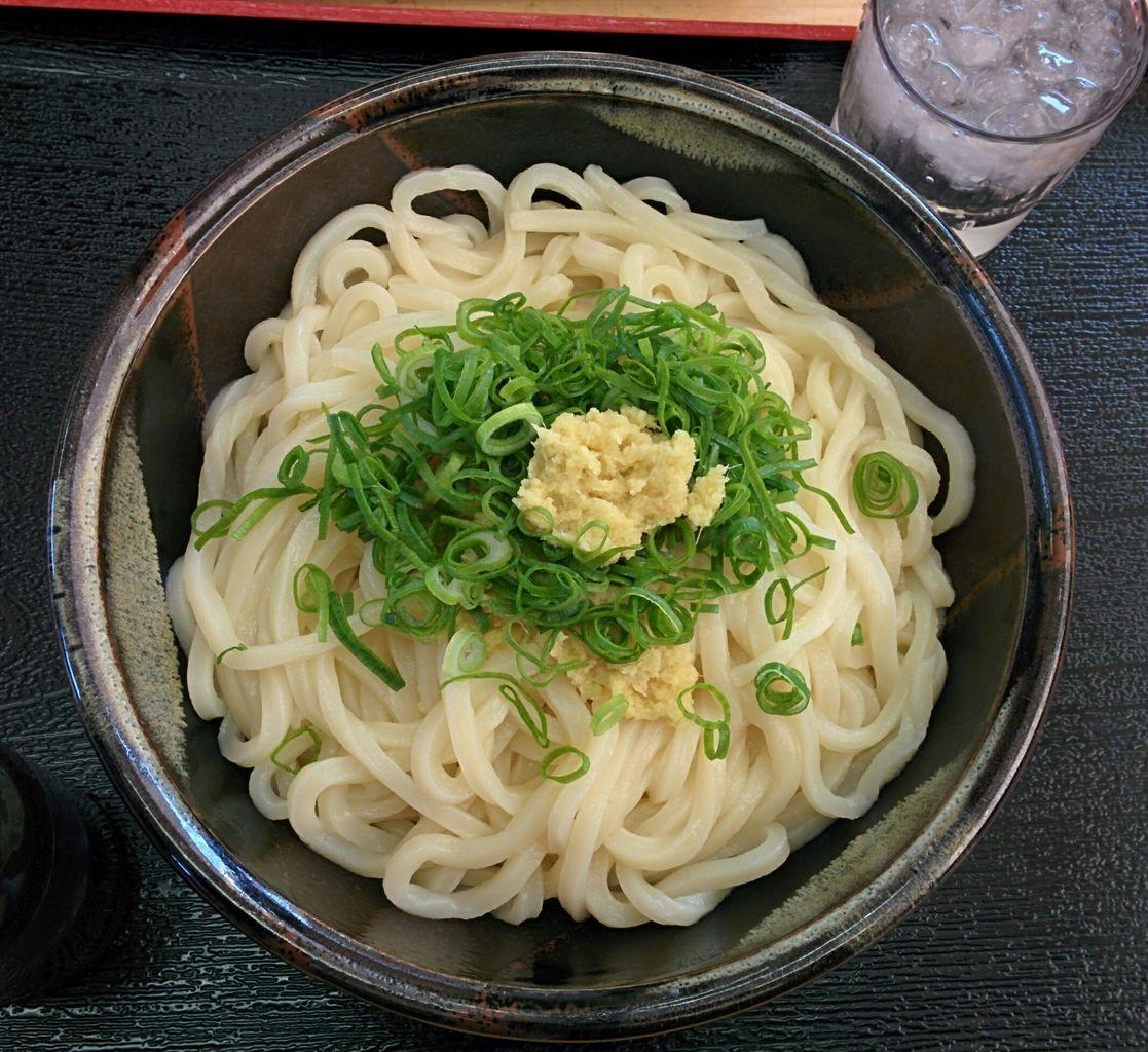 soy sauce udon noodle