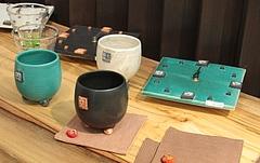オリジナル陶器カップ