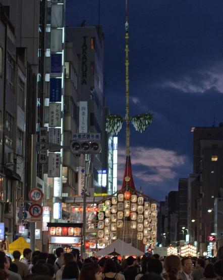 祇園祭り宵々山