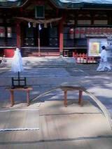朝見神社 竹の感謝祭