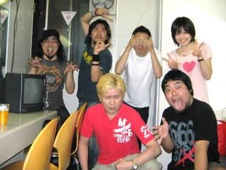 新宿FACE 楽屋
