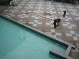 水上ステージの解体作業9