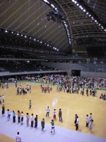 東京体育館全景