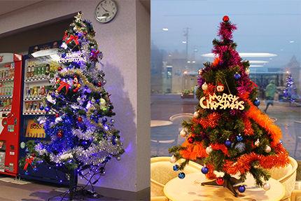 2014クリスマスロビー玄関側