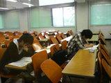 国家試験直前自主模擬試験に取組むソフ開組