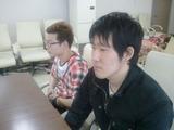 島津副会長と大久保副会長