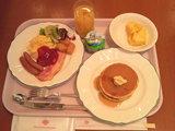 東京研修最終日の朝食・・・�