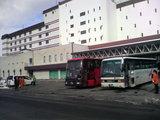 洞爺観光ホテル送迎バス帰り見送り
