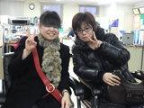 21期卒業生福澤恵美さんと本間千絵美さん