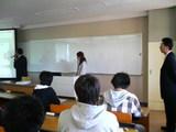 ITS企業説明会2期の卒業生がやってきた