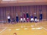 体育の授業20120913