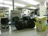 情報処理科に新兵器投入CanonEOSKissDigitalX2