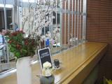 桜の季節新入生受入準備オープンキャンパス間近