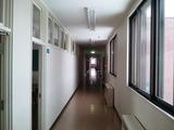 廊下も寂しい感じ・・・