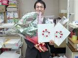 卒業生からの心のこもったプレゼント