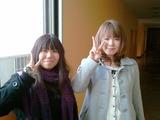 卒業生来校25期川野さんと是則さん