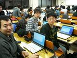 午前免除試験合格へ向けて放課後に取組む地元学生