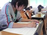 期末試験始まりました・・・佐藤裕和くん