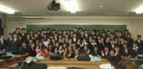 情報処理科25期卒業式集合写真
