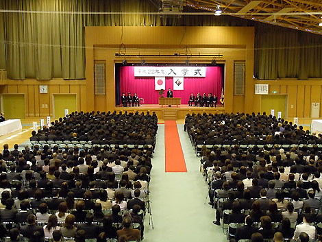 北海道校 入学式