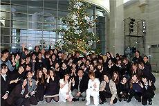 クリスマスツリー点灯式 日本工学院専門学校(蒲田校)