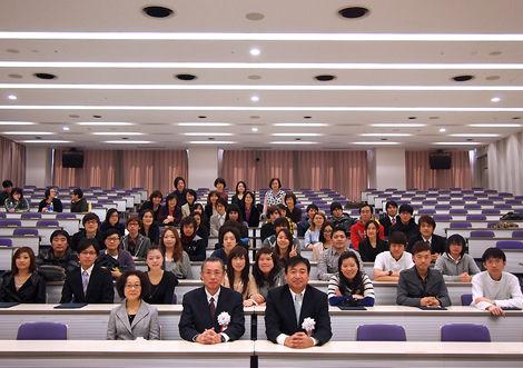 東京工科大学附属日本語学校 卒業式2