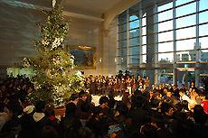 クリスマスツリー点灯式 日本工学院専門学校(蒲田校)2