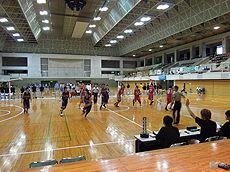第13回全国専門学校バスケットボール選抜大会 那覇市民体育館