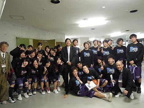 東京都専門学校バスケ選抜チーム