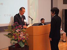 東京工科大学附属日本語学校 卒業式3