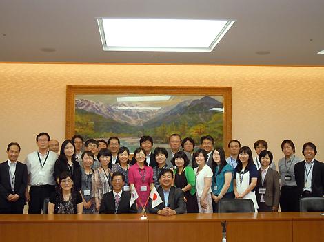 忠清北道日本語教師研修