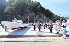 重茂-漁船贈呈2