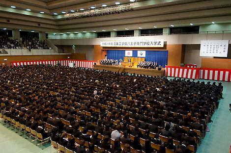 2012 日本工学院八王子専門学校 入学式