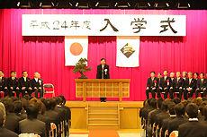 2012 日本工学院北海道専門学校 入学式2